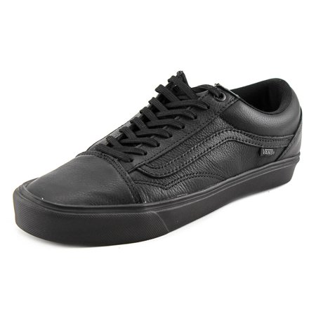 VANS - Vans Old Skool Lite Round Toe Leather Sneakers - Walmart.com a3e141e42