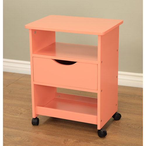 rolling carts with drawers home craft rolling cart with drawer colors 25620