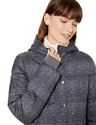 Essentials Heavy-Weight Hooded Puffer Coat Fille