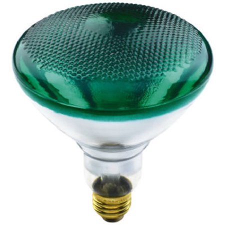 Green Reflector Floodlight (Globe Electric 70893 Floodlight Bulb, Green,)