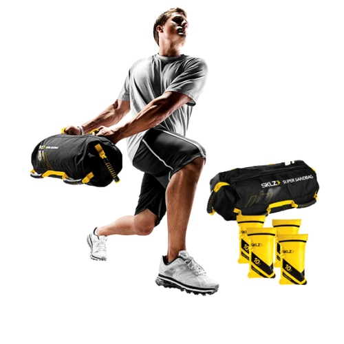 SKLZ Super Sandbag Heavy Duty Training Weight Bag by Athletic Connection