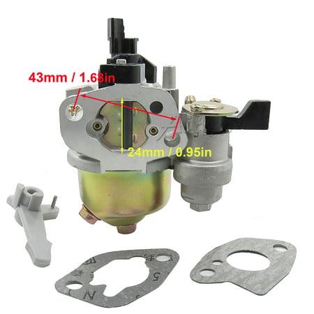 Add Gasket (Adjustable Carburetor and Gasket Set For Honda GX120 4HP)