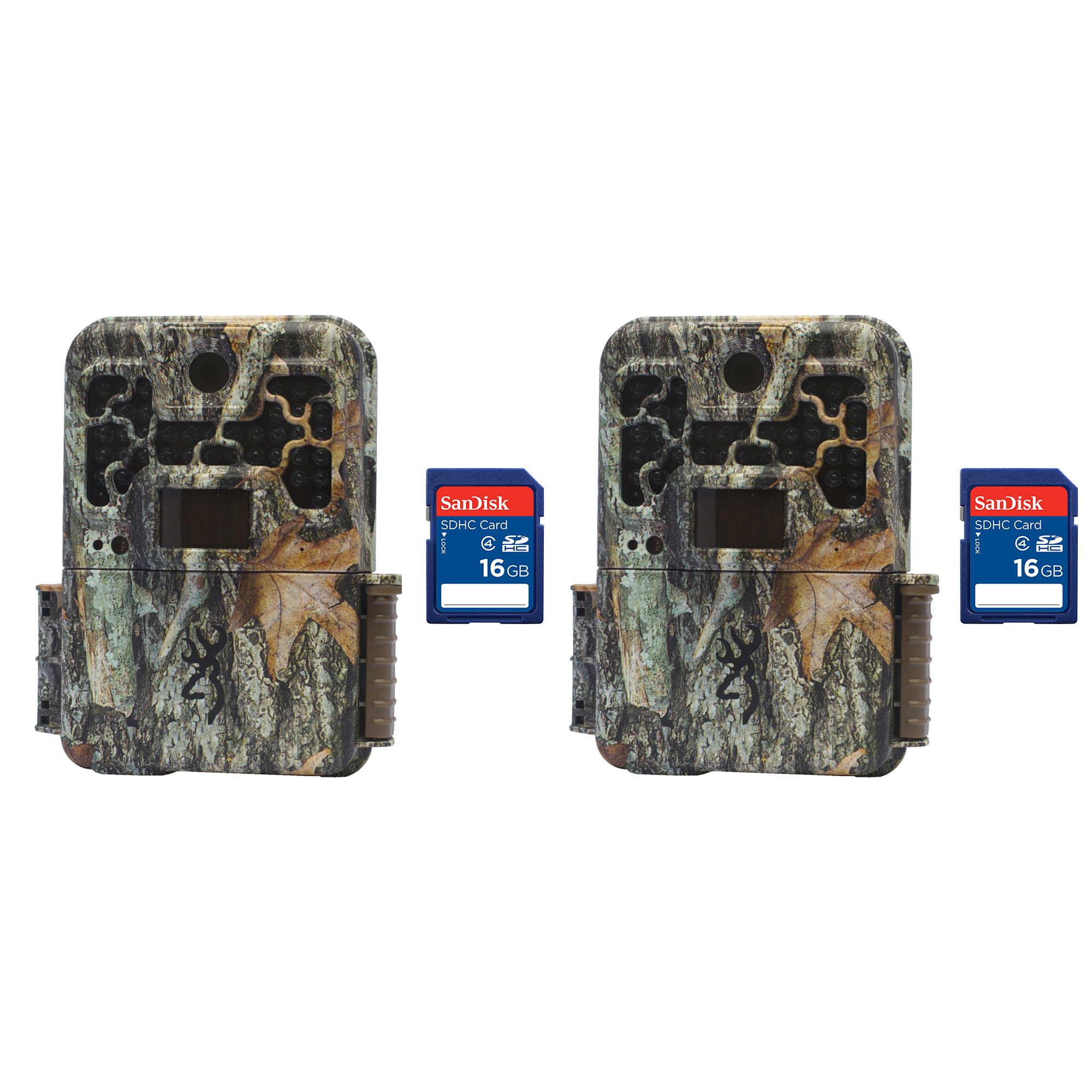 Browning Trail Cameras Recon Force Extreme 20MP Game Camera, 2 Pack + SD Cards by Browning Trail Cameras