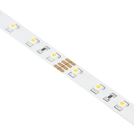24V 3528 LED Tape Light Reel with 60 Unjacketed LEDS per Meter 5000K 98.4-Feet