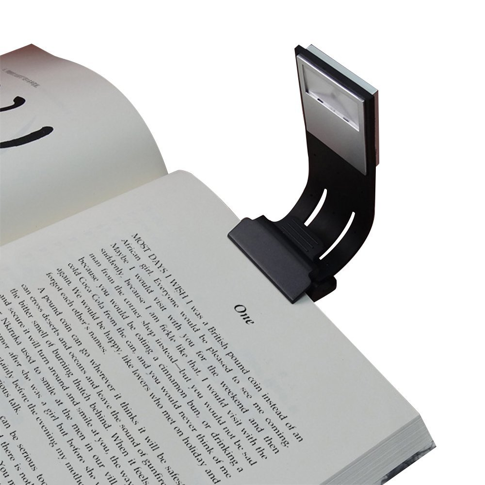Book Light Reading Light Double as BookMark with USB Rechargeable by