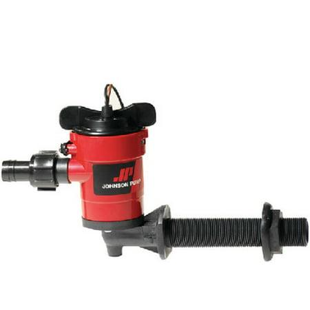 Johnson Pump 28502 Livewell Aerator Cartridge Pump, 500 GPH, Straight