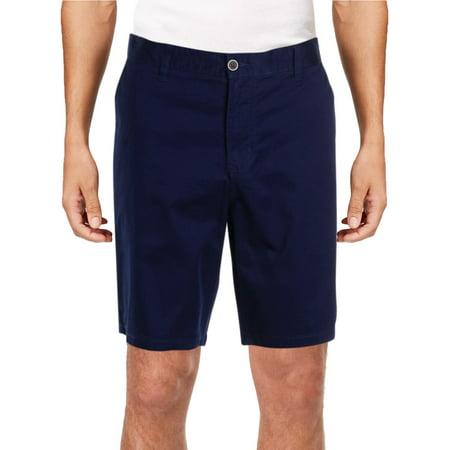 IKE By Ike Behar Mens Lightweight Flat Front Casual Shorts