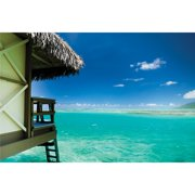 Island Way Outdoor Local Dive Photographic Print on Canvas