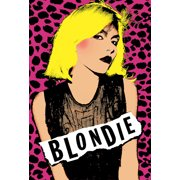 Blondie Rock Band New Wave Music Group Leopard Print Poster Print