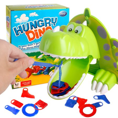 Plastic Animal Toy Adventure Game Hungry Dino Bite Dinosaur Game Get Item Mouth for Kids Xmas Birthday Gift](Get Ready For Halloween Game)