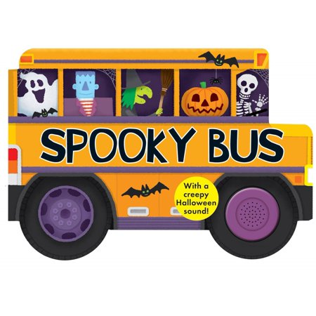 Spooky Bus: With a Creepy Halloween Sound (Board Book) - A Ohana's Halloween