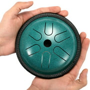 5.5 inch Portable Steel Tongue Drum Mini 6 Notes Hand Pan Drum Percussion Musical Instruments