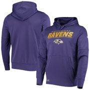 Baltimore Ravens New Era Combine Stated Pullover Hoodie - Purple