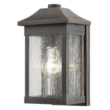 Artcraft Morgan SC131 Outdoor Wall Light With its craftsman style, the Artcraft Morgan SC131 Outdoor Wall Light brims with eye-catching appeal. Constructed from high-quality aluminum, this wall light is crafted with durability in mind. Artcraft Since 1955, Artcraft Lighting has operated on the belief that beautiful lighting should be as much about the experience as the light fixtures themselves. And to create that meaningful experience, Artcraft Lighting strives to provide lighting products that are designed to meet your decor, lifestyle, and budget needs - all while ensuring top quality and impeccable customer service. With Artcraft Lighting products, you can reap the benefits of more than 60 years of lighting experience.