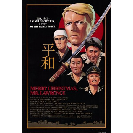 Merry Christmas Mr Lawrence.Merry Christmas Mr Lawrence Movie Poster 11 X 17
