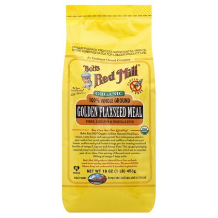 Bobs Red Mill Flaxseed Meal, Golden, 100% Whole Ground