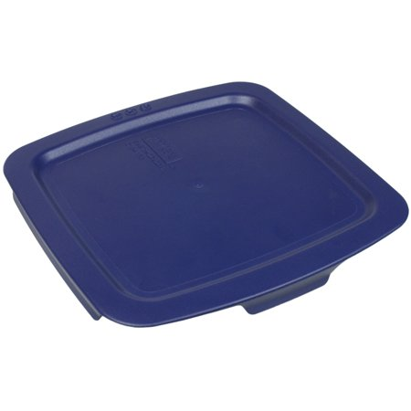 Pyrex Replacement Lid C-222-PC 2-Qt Blue Plastic Cover for Pyrex C-222 Easy Grab Glass Baking Dish (Sold - Blue Pyrex Glass
