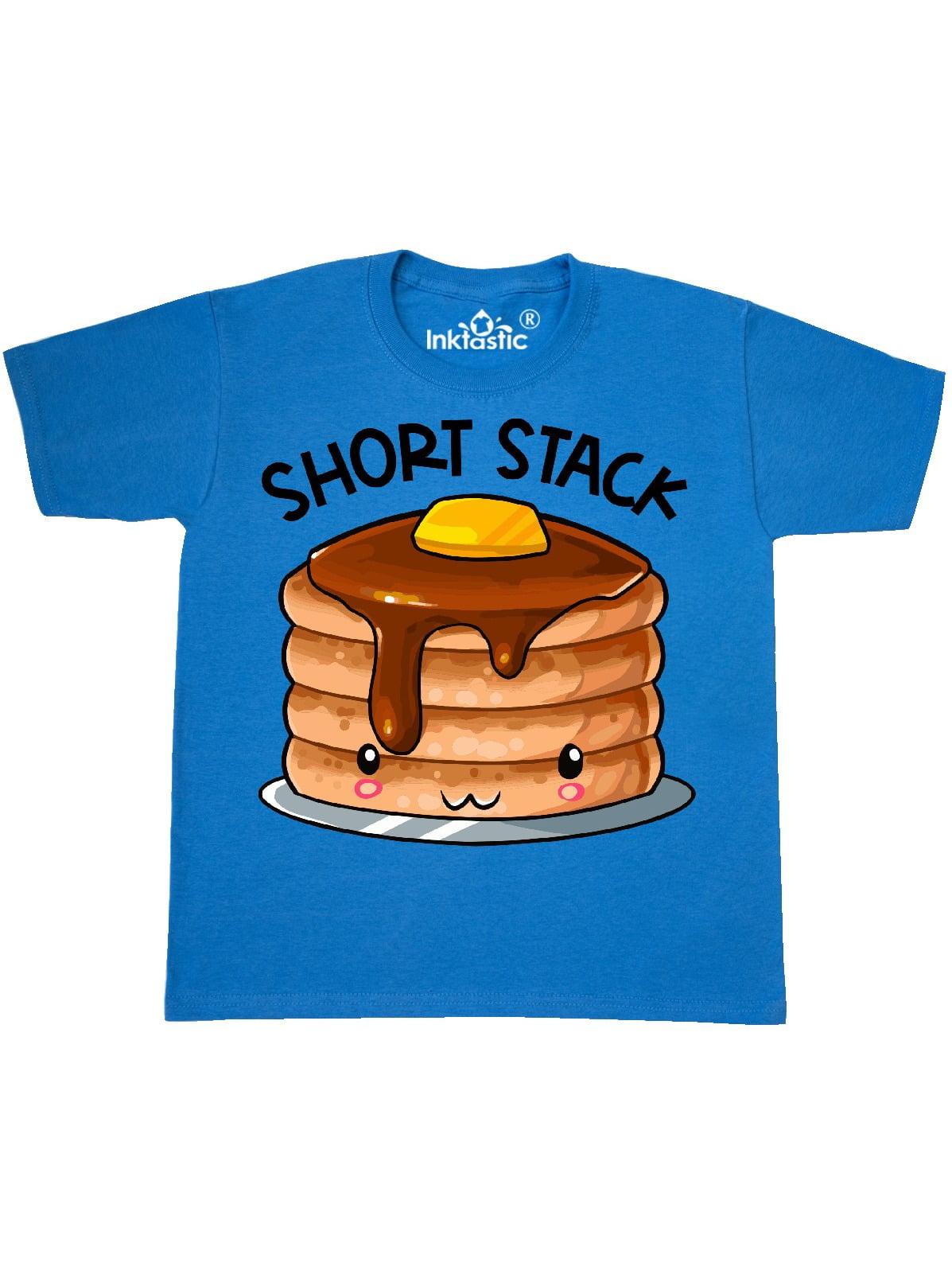 inktastic Short Stack Cute Pancake Breakfast Baby T-Shirt