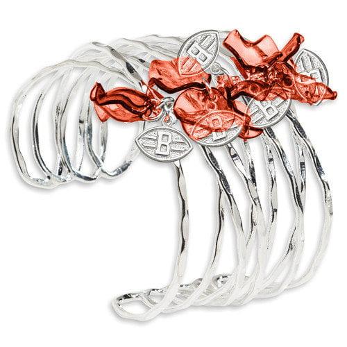 LogoArt NFL Celebration Silvertone Bracelet