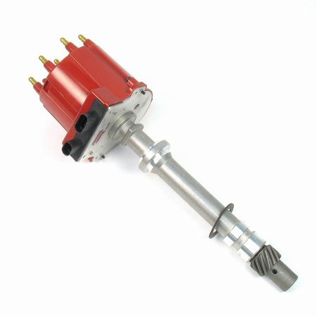 Pertronix D1021 Flame-Thrower Red Cap Distributor Hei/est For Chevrolet Small Block/big Block (Flamethrower Distributor)