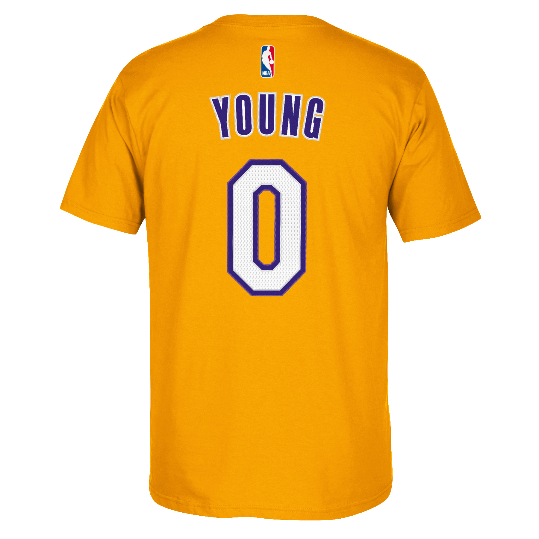 Julius Randle Los Angeles Lakers Adidas Player Name And Number T-Shirt (Gold)