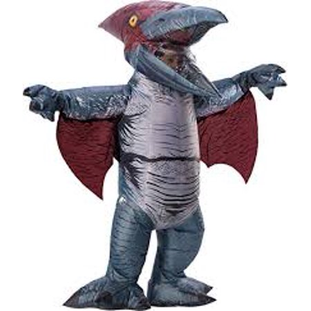 Jurassic World: Fallen Kingdom Mens Pteranodon Inflatable Halloween Costume
