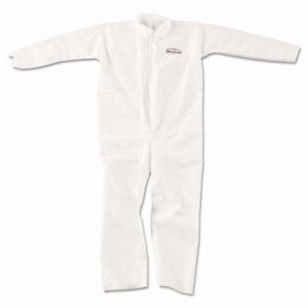 Kleenguard Ultra Coveralls - KleenGuard A20 Breathable Particle Protection Coveralls, XL, White (KCC49004)