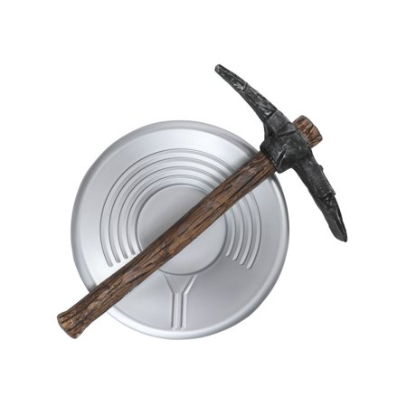 Halloween Child Miner Pick Axe and Pan