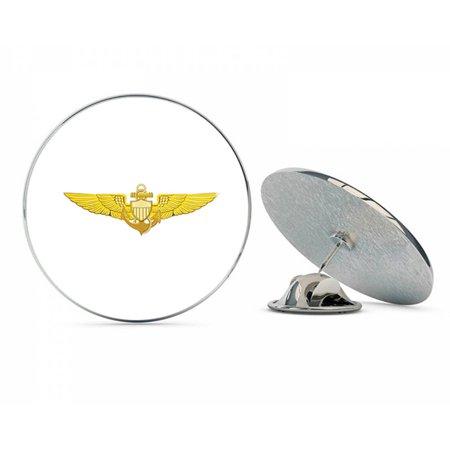 Pilot Wings Pin (US Navy Pilot Wings  Military Veteran USA Pride Served Gift Metal 0.75