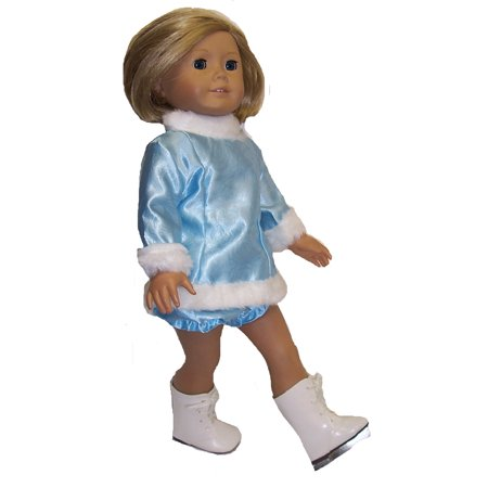 - Ice Skating Dress and Pants For All 18 Inch Girl Dolls