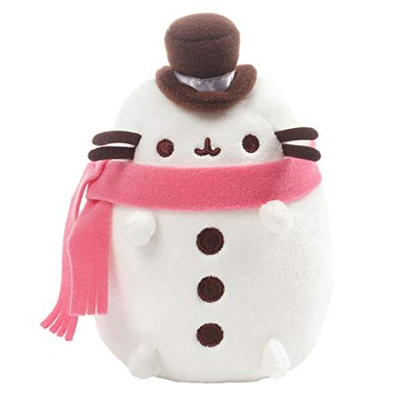 Country Snowman Plush (Gund Pusheen Snowman Plush,)