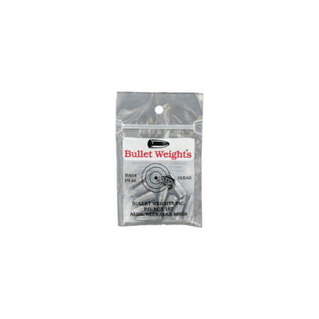 Custom Competition Bullets - Bullet Weights® Bullet Weight 1/4 oz., 10 sinkers