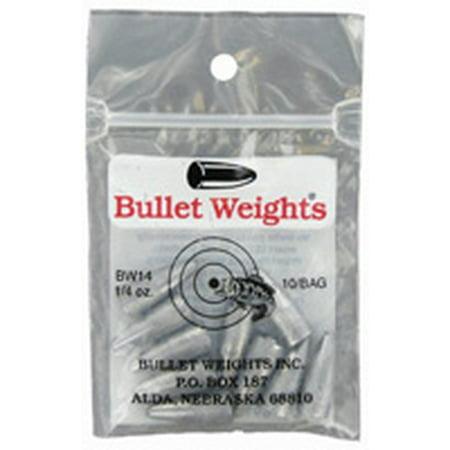 Bullet Weights® Bullet Weight 1/4 oz., 10