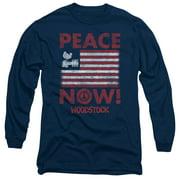 Woodstock Peace Now Mens Long Sleeve Shirt