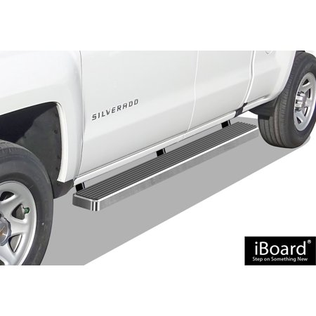 - iBoard Running Board for Selected Silverado/Sierra Double Cab