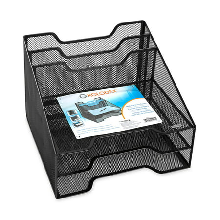Rolodex Combination Sorter, 5 Sections, Metal Mesh, - Desk Accessories Rolodex