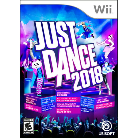 Just Dance 2018, Ubisoft, Nintendo Wii, (Best Nhl Game For Wii)