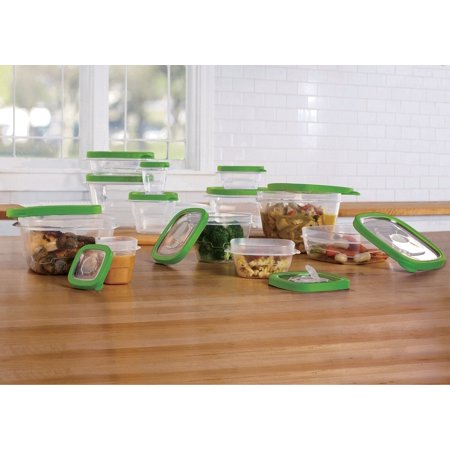 24 Piece Storage Container set with vent lids
