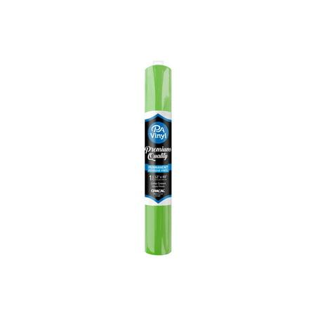 - Vinyl 12x48 Roll Perm Adh Gloss Lime Green