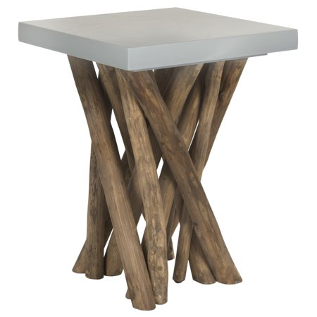 Safavieh Hartwick Rustic Glam Branched Square Side Table ()