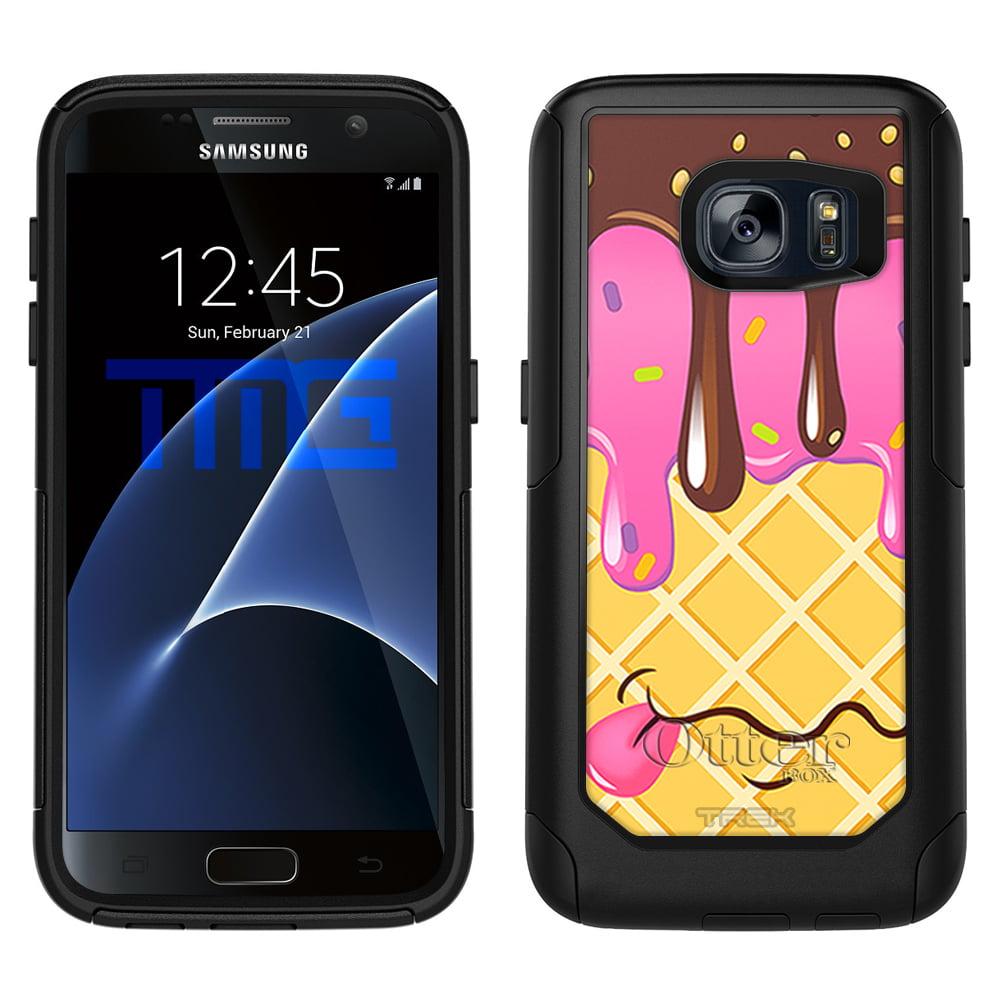 OtterBox Commuter Samsung Galaxy S7 Case - Chocolate Strawberry Ice Cream Cone OtterBox Case - Walmart.com