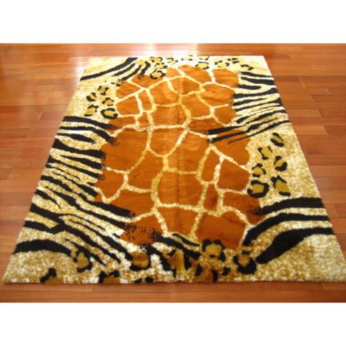 Walk On Me Rugs Safari Kenya Faux Fur Rectangle Rug (2u00273 X 3