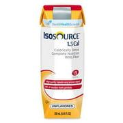 - Isosource 1.5 Cal Complete Unflavored Liquid Food 275 Cal 250mL CS/24 PK/6