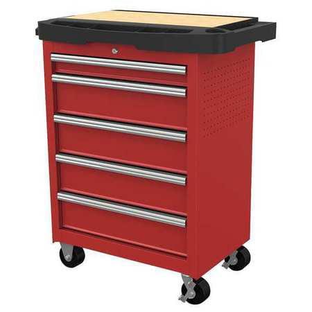 "WESTWARD Rolling Cabinet,34-5/16"" Wx19-1/2""D 31CE53"