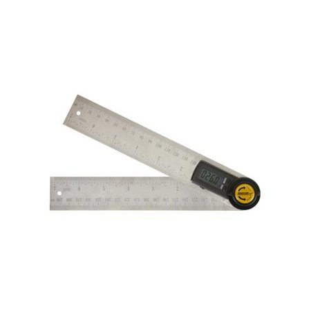 Johnson Level & Tool 1888-0700 Digital Angle Locator & Ruler, 7-In.
