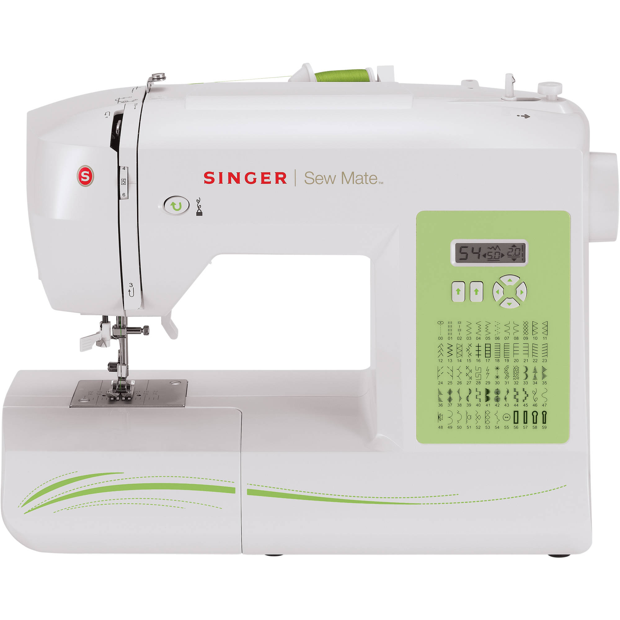 Singer 5400 Sew Mate 60-Stitch Sewing Machine