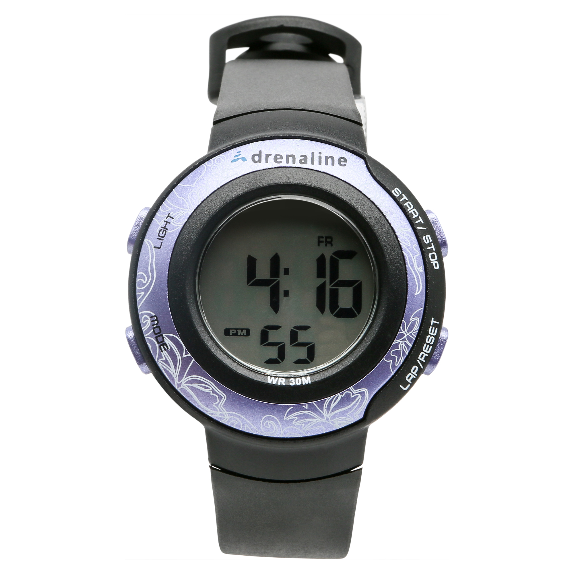 Image of Adrenaline by Freestyle Unisex Black Rubber Sports Watch