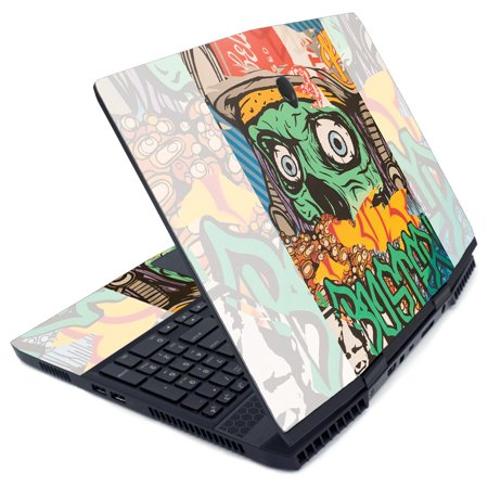 MightySkins Skin for Alienware M15 (2019) - Cartoon Mania | Protective, Durable, and Unique Vinyl Decal wrap cover | Easy To Apply, Remove, and Change Styles | Made in the