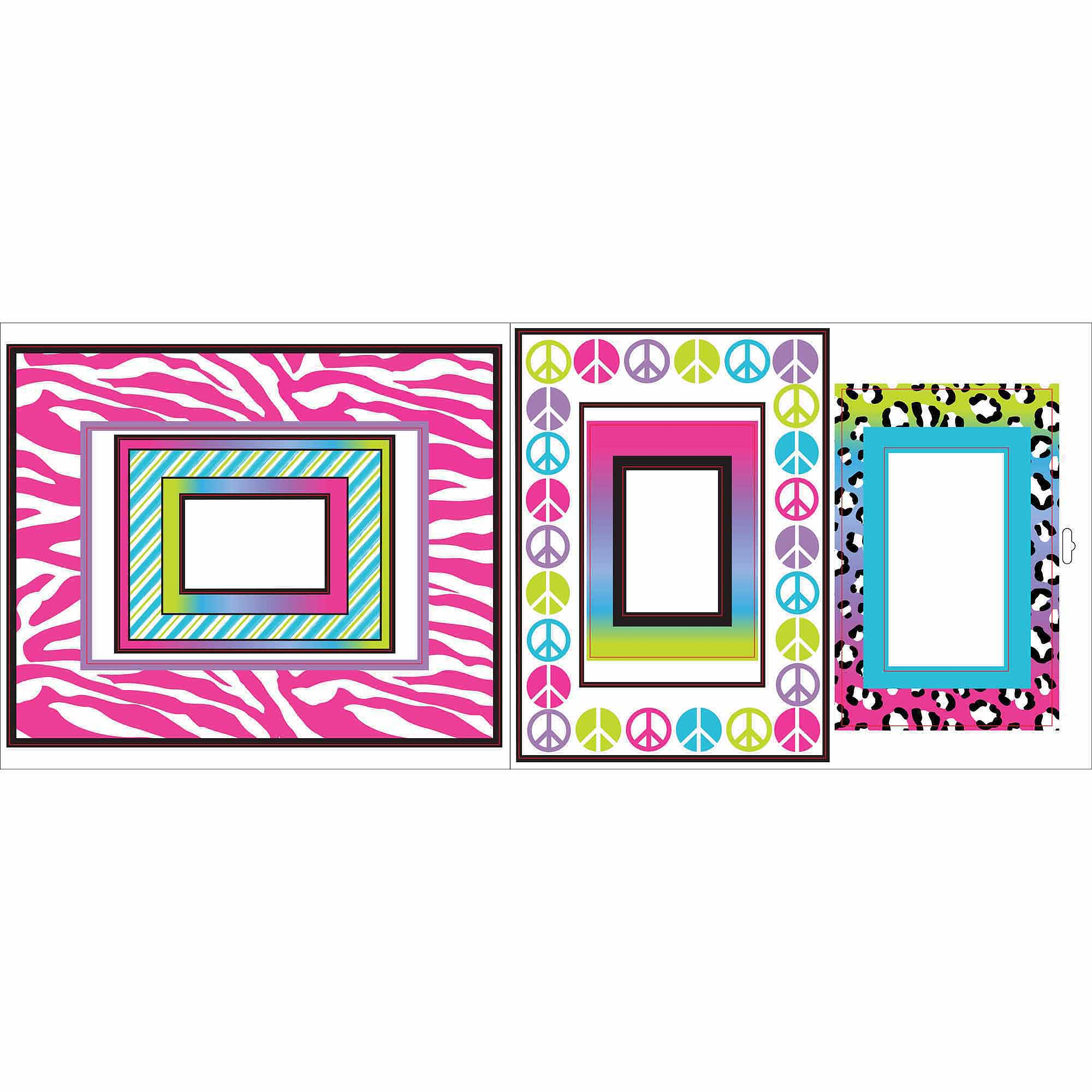 Animal Print Frames Stickers