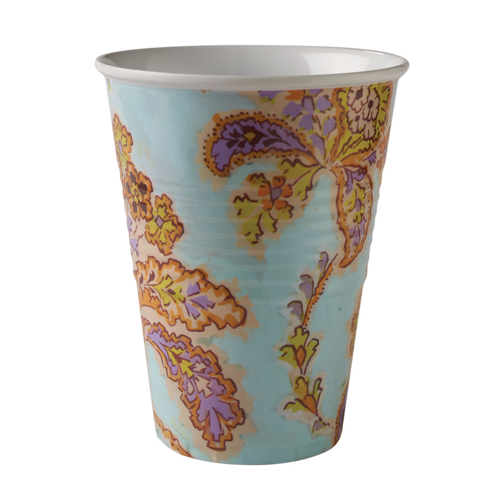 Garden Party Melamine Drinking Cups - Assorted Event Pack - Set Of 4